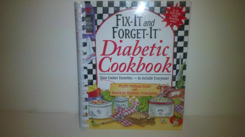 Fix -it and Forget-it, Diabetic Cookbook