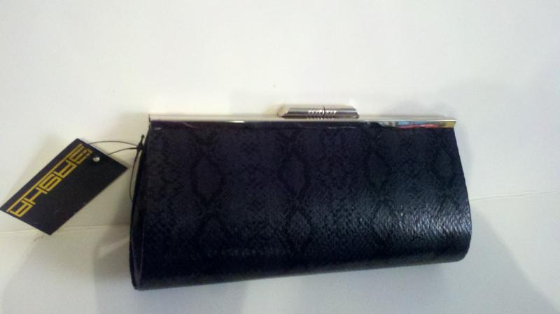 Black clutch purse