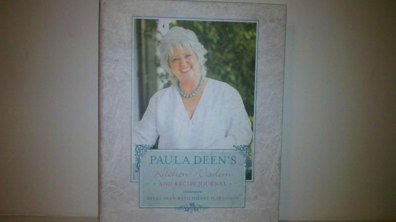 Paula Dean Kichen Wizdom and Recipe Journals