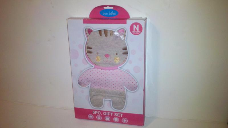 Bon Bebe' New born my 1st outfit 0-6 months / 5 pc gift set