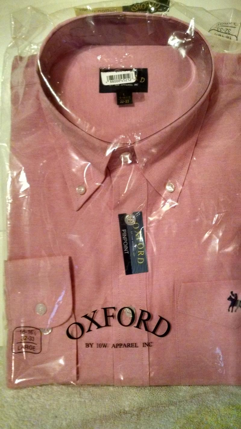 Oxford Shirt color Pink
