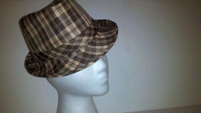 Girl's  Brown  dress hat; ages 9-12